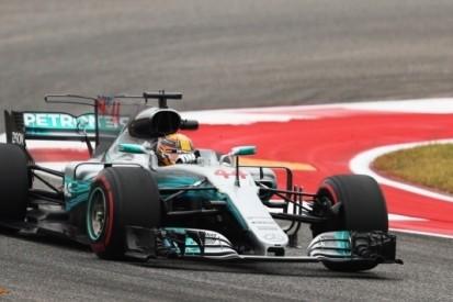 Snelste tijd Hamilton op opdrogend Circuit of the Americas