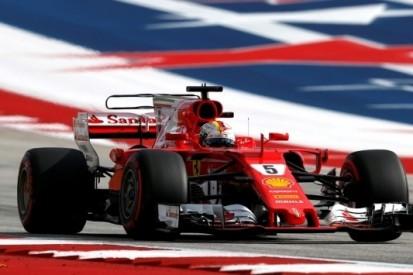 """Vettel tevreden met P2: """"Meestal goed tempo in race"""""""