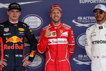 Vettel voorkomt pole Verstappen in uiterste slotfase