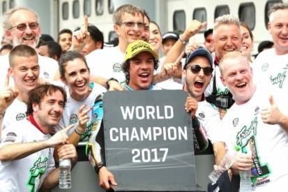 Morbidelli Moto2-kampioen na gedwongen opgave Luthi