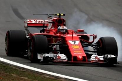 """Räikkönen baalt van P3: """"Het lukte mij niet met de banden"""""""