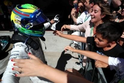 In beeld: het tweede afscheid van Massa op Interlagos