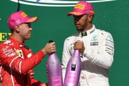 Hamilton en Vettel kijken al naar gevecht in 2018