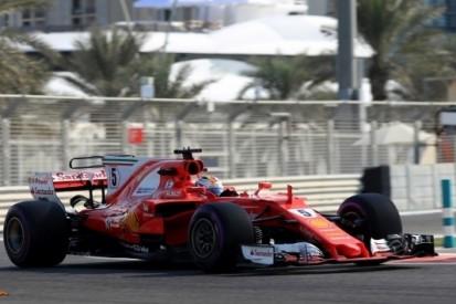 Vettel opent slotweekend Abu Dhabi als snelste