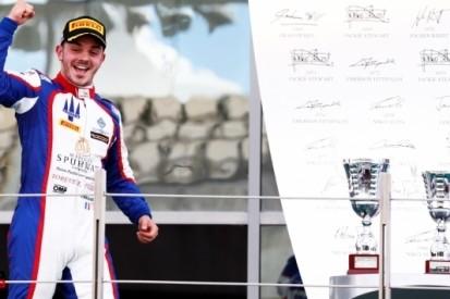 Boccolacci boekt eerste overwinning in GP3 Series