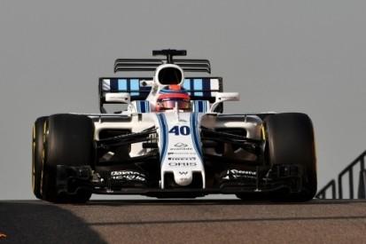 Fotospecial: Kubica test een 2017-Williams in Abu Dhabi