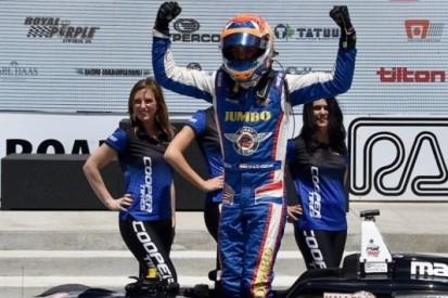 Van Kalmthout met topteam in Pro Mazda-kampioenschap