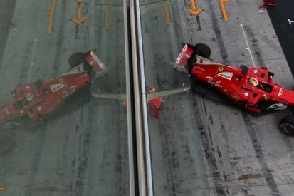 Vettel bovenaan op laatste testdag, Verstappen derde