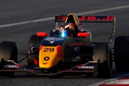 Verschoor Red Bull-junior af, blijft in Formule Renault 2.0