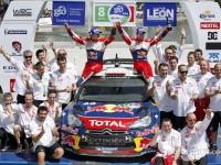 Loeb continues Rally Mexico winning streak