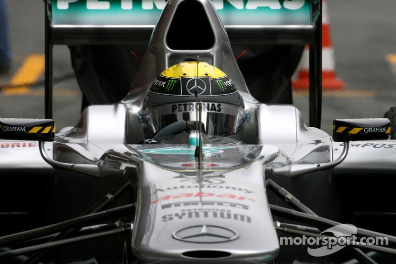 Mercedes Barcelona test report 2011-03-09