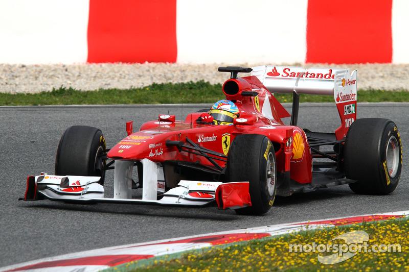Ferrari Barcelona test report 2011-03-11