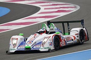 European Le Mans Pescarolo Team Paul Ricard test summary