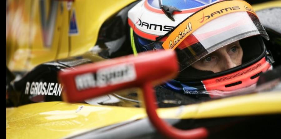 Grosjean takes points lead in Asia series penultimate race