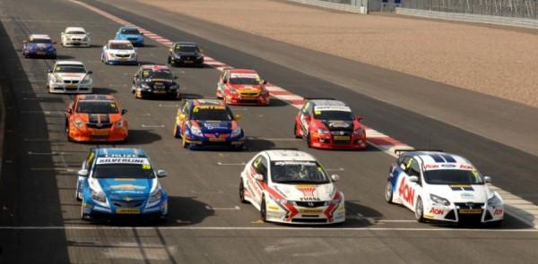 Record 27-Car Grid for 2011 BTCC