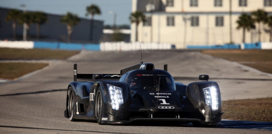 Audi tests next R18 evolution