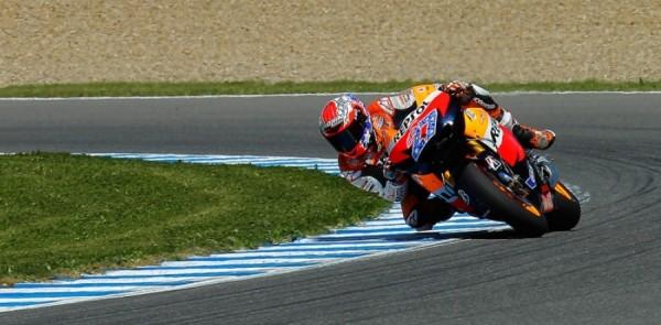 Honda riders set early pace at Jerez