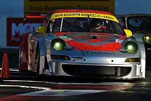 ALMS Porsche qualifying report