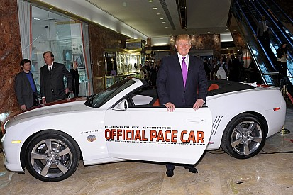 IMS announces Trump not to drive pace car