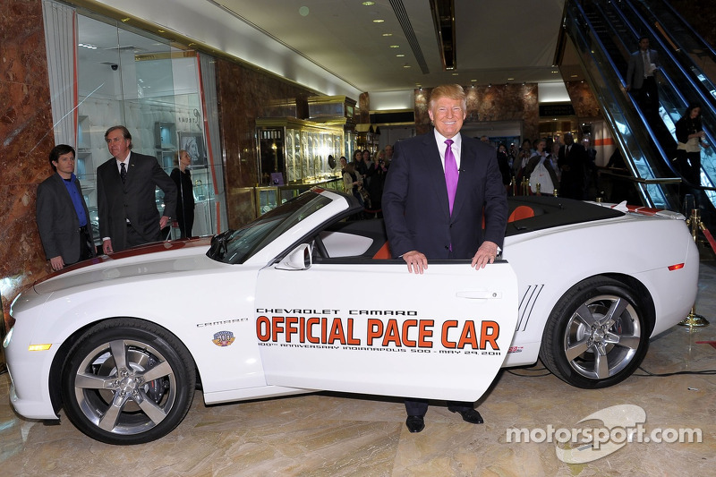 IMS Announces Trump Not To Drive Pace Car - Car show in indianapolis this weekend
