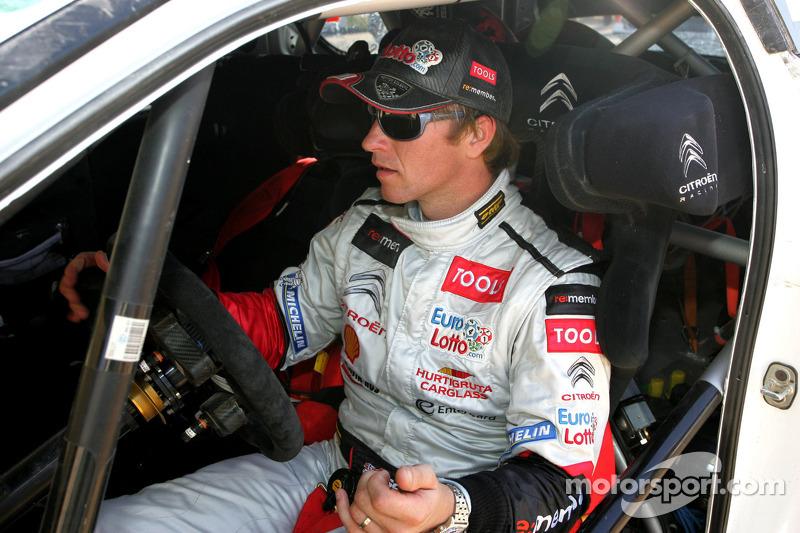 Petter Solberg Rally Italia Sardegna leg 1 summary