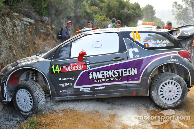 Van Merksteijn Motorsport Out Of Rally Italia Sardegna
