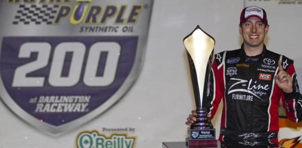Kyle Busch Darlington Nationwide race report