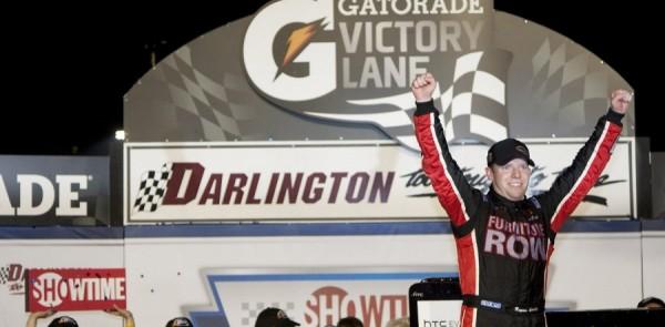Winning team Darlington post race press conference