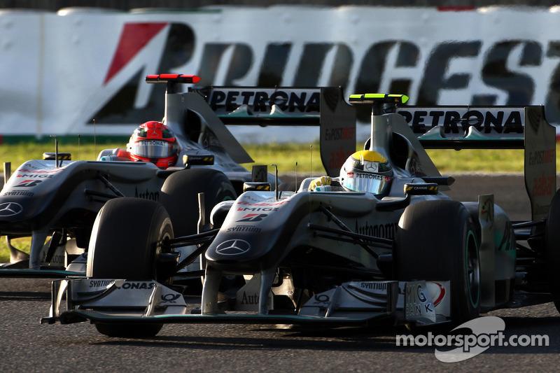 Schumacher still strong insists Rosberg