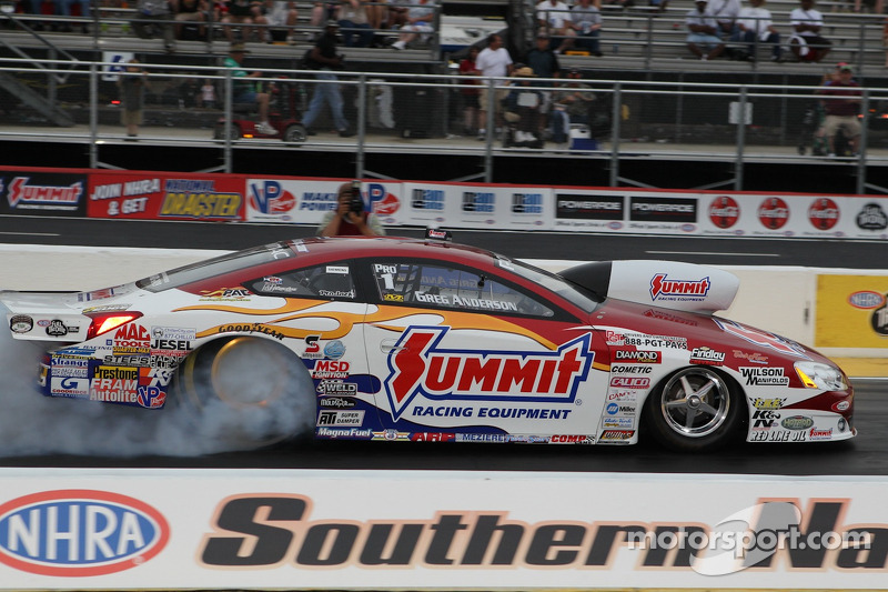 Greg Anderson Topeka Friday qualifying report