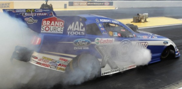 NHRA Series Topeka Final Eliminations Report