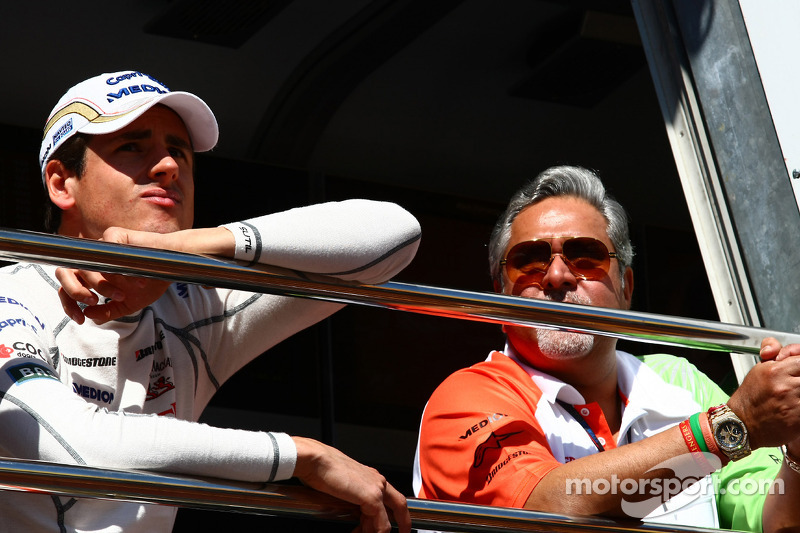 Force India to act if Sutil case proceeds - Mallya