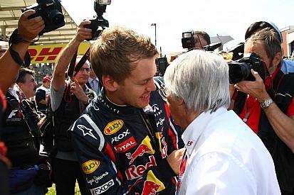 Vettel's rivals need 'very good luck' - Ecclestone