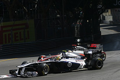 Maldonado, Massa, confirm Hamilton said 'sorry'