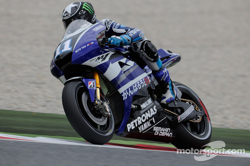 Yamaha British GP Friday Report