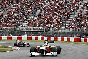 Formula 1 Force India Canadian GP Race Report