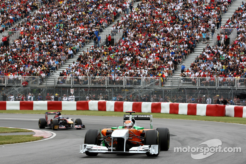 Force India Canadian GP Race Report