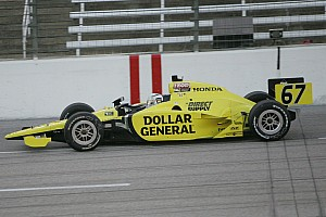 IndyCar Sarah Fisher Racing Milwaukee Mile Qualifying Report