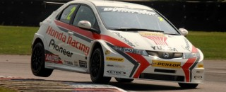 BTCC Matt Neal Wins Race 1 At Croft