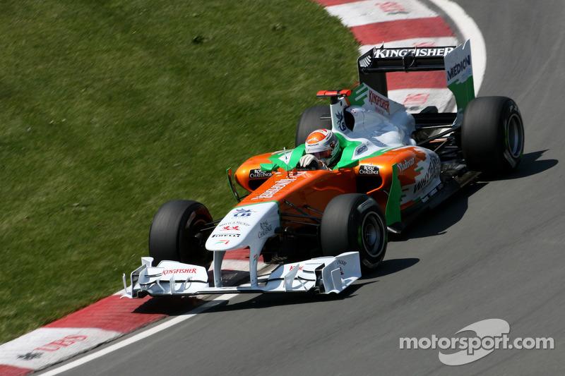 Force India Looking Forward To European GP At Valencia