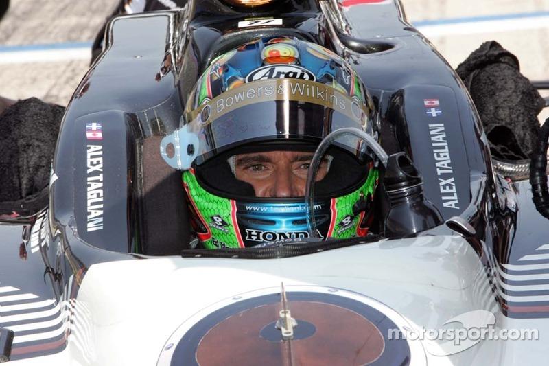 Alex Tagliani Set For Speed At Iowa