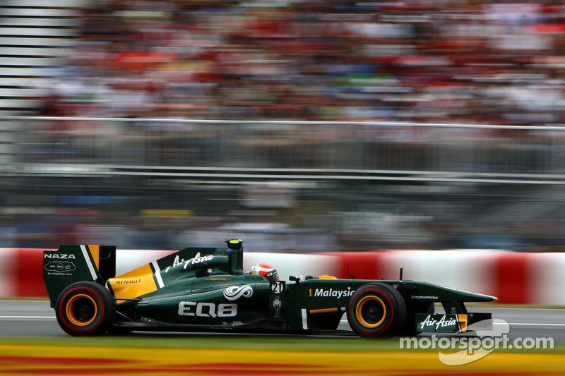 Team Lotus European GP  - Valencia Friday Practice Report