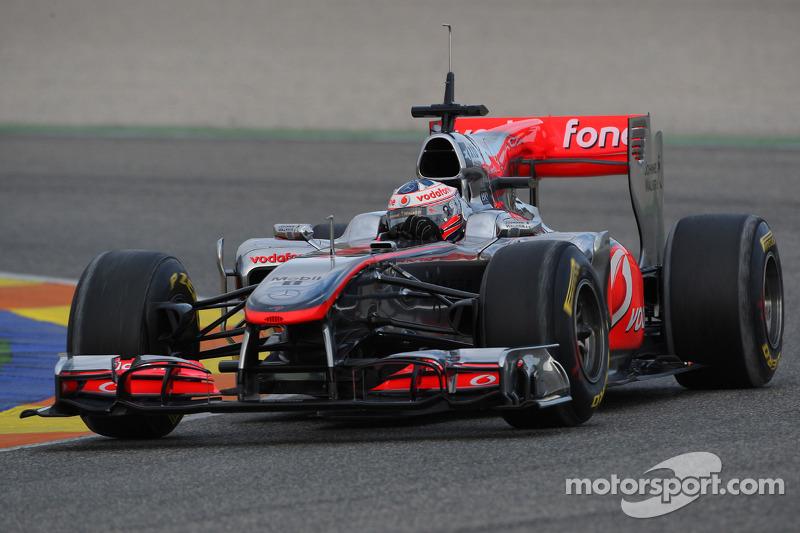 McLaren Extends Formula One Deal With Paffett