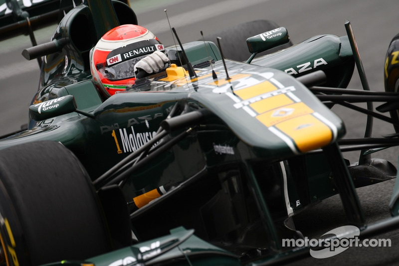 Team Lotus British GP - Silverstone Qualifying Report