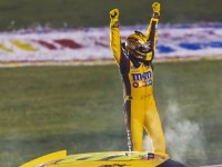 Kyle Busch Takes NASCAR Victory In Inaugural Kentucky 400