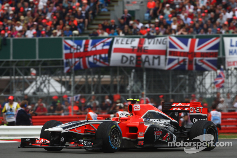 Marussia Virgin British GP - Silverstone Qualifying Report