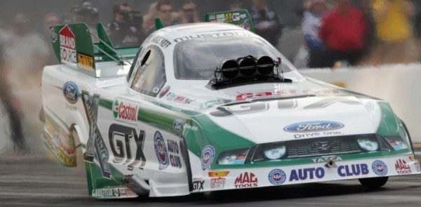Neff Gets Ford's 200th NHRA Funny Car Win At Joliet