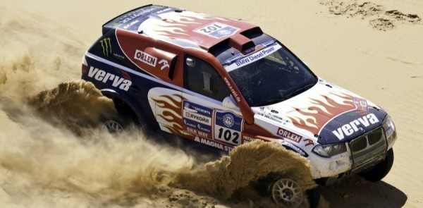 Leader Holowczyc Earns Dakar Silk Way Rally Stage 5 Win