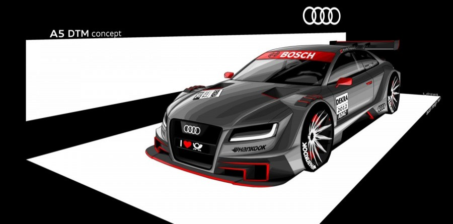 Audi Banks On A5 For 2012 DTM Season