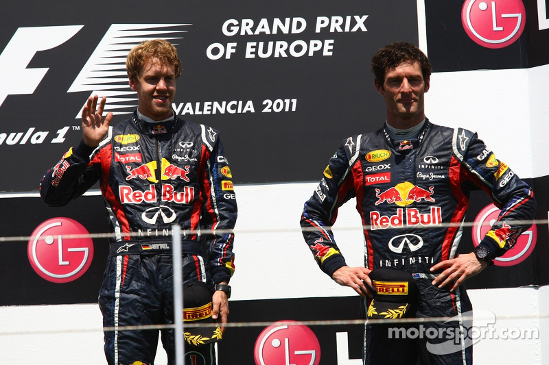Red Bull Equality For 2012 Is 'Good Question' - Webber